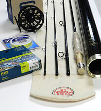 Winston Boron BIIIx Fly Rod Outfit with Ross Reel, Fly Line, and backing
