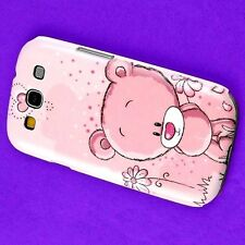 RV Rub Teddy Bear Back Skin Case Hard Cover Samsung Galaxy S3 S-III i9300 i747