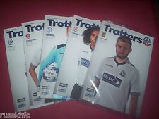 2014/15 - BOLTON HOME PROGRAMMES CHOOSE FROM