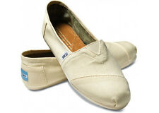 Toms Mens Classic Natural Canvas Shoes 001001A07 LTBGE Mens 8~11 ALL available