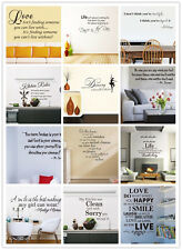 1PC Removable Art Vinyl Quote Wall Stickers Decal Mural Home Kitchen Decor