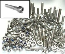 Stainless Steel Bolts +Nuts & Washers Lambretta Piaggio Italjet Vespa - Bolt kit