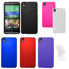 FOR HTC Desire 816 Solid Hard Cover Case Accessory w/ Screen Protector