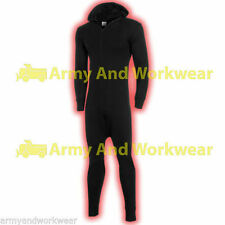 Thermal All in One Hooded Union Suit Underwear Full Sleeve Long Johns Heat Trap