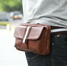 New Fashion Men's Leather Casual Fanny Waist Pack- BY001