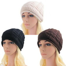 Fashion Style NEW!Women's Warm Knitted Winter Baggy Beanie Hat Ski Cap