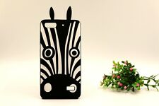 For HuaWei Honor Ascend Soft Silicon Fitted Case - Zebra Peach Eye Dog Cover NEW