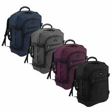 Cabin Flight Approved Backpack Hand Luggage Travel Holdall 44 Litre Bag Rucksack