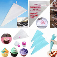 Disposable/Reusable/Double-Color Icing Piping Pastry Bags Cake Decorating Tool#M