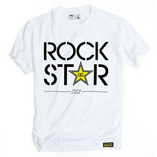 Factory Effex Rockstar Energy Duplex White T-Shirt Tee Adult Mens Licensed NEW