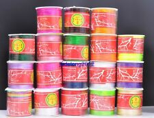 Wholesale 80yards 1MM Satin Rattail Nylon Cords Jewelry Beading Thread Findings