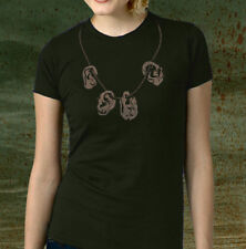 New ZOMBIE EAR NECKLACE Shirt, Men's & Fitted Womens, Dead Daryl Zombies Walking
