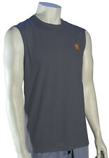 Quiksilver Waterman Snappers Tank Surf Shirt - Charcoal - New