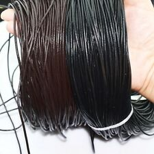 Genuine Leather Cord Thread For Bracelet Necklace DIY Jewelry Making