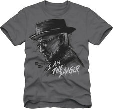 Breaking Bad I Am The Danger Heisenberg Sketch Licensed Men's T-Shirt
