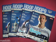 2009/10 - QPR HOME PROGRAMMES CHOOSE FROM