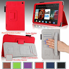 "For 2014 Amazon Kindle Fire HD 7"" PU Leather Case Cover Stand Auto Sleep/Wake"
