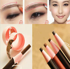 Cool Women's Soft Crayon Waterproof Eyebrow Eyeliner makeup pencil Beauty CA HU