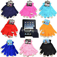 Latest Unisex Magic Touch Knit Screen Gloves Smartphone Texting Stretch Tablet