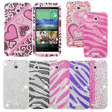 For HTC Desire 510 Cover Bling Hard Case Cell Phone Accessory