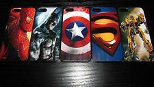 Hero Case For iPhone 4 4S 5 5S 5C 6 Batman Spider-Man America Superman Marvel