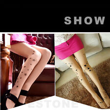 Fashion Women Tattoo Sexy Pantyhose  Design Pattern Printed Stockings Tights