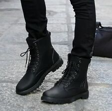 New fashion Men's short shoes Retro Combat boots Winter England-style Boots @94