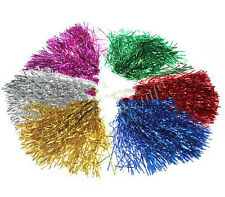 Bright color Cheerleader Party Favors Flower Ball Pom Poms Delicate HU