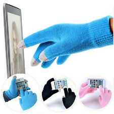 Cotton Winter Men Women Touch Screen Gloves Texting Capacitive Smartphone Knit
