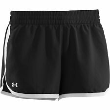 Under Armour 1237616 Women's UA Great Escape Shorts II Running Gym  BLACK