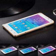 Aluminum Metal Bumper Frame Hard Case Cover For Samsung Galaxy Note 4 N9100 STGG