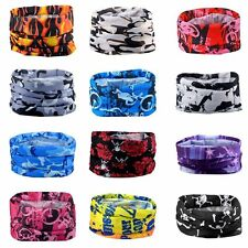 Half Face Bandana Ski Motorcycle Biker Paintball Gaiter Mask Scarf Neckwrap Tube