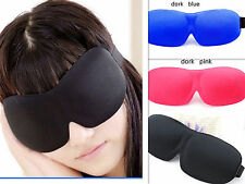 Eye Aid Mask Travel Sleep Rest Sleeping Sponge Cover Shade Blindfold
