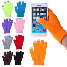 Mens Or Ladies Winter knit Easy Click Touch Screen Magic Gloves Smart Phone,New