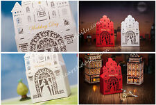 10 X Wedding Gift Favor Candy Boxes Lovers in Palace Church Treat Gift Box BX019