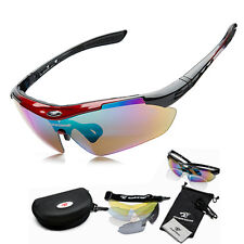 Cycling Riding Bicycle Bike Sports Sun Glasses Sunglasses Eyewear Goggle 5 lens