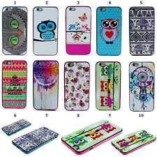 2015 Fashion Cute Painted Rubber TPU + PC Hybrid Case Cover For Samsung Galaxy