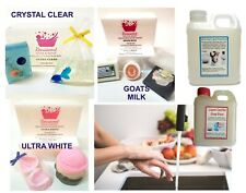 1-3kg MELT AND POUR MP SOAP BASE + FREE Book, High Quality, SLS/SLES FREE