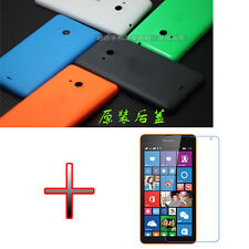 EY1 Original Battery Back Door Cover Case + Screen Protector for Nokia Lumia 535