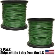 5lb .095 Round Green Round Trimmer Line Spool Roll Fits Echo Stihl Redmax