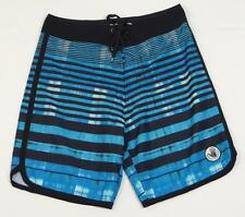 Body Glove Black & Blue Voodoo Stretch Boardshorts Board Shorts Mens NWT