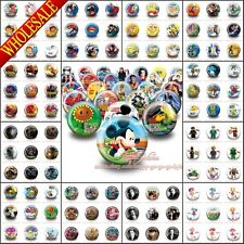 18Pcs Hot Cartoon Logo Pin Buttons Badges,30mm,Party Favors,Kids Christmas Gift