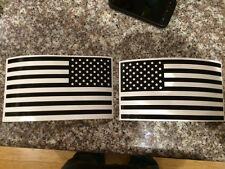 Jeep Tactical Black American Flag Vinyl Decal Various Sizes