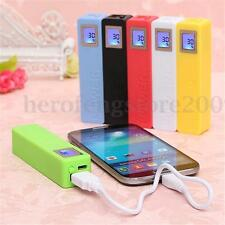 2600mAh DIY USB Power Bank Case Kit 18650 Battery Charger Chargeur for iPhone LG