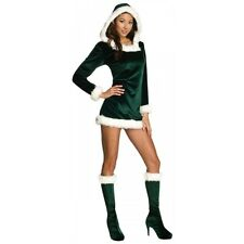 Elf Costume for Women Adult Sexy Christmas Outfit Fancy Dress