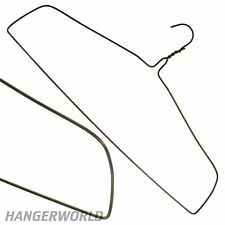 "SUPER STRONG METAL WIRE DRAPES HANGERS CURTAIN BLANKET CLOTHES 17.9"" HANGERWORLD"