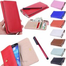 Fashion Slim Leather Wallet ID Pouch Case for Apple iPhone 4 NEW
