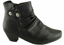 BELLISSIMO CAITLYN WOMENS/LADIES COMFORT BOOTS/SHOES ********FAULTY PAIR********