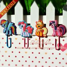 4pcs/set My Little Pony Paper Clip Bookmarks,School & Office Supplies Stationery