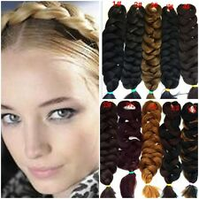 Womens Ladies Hair Extensions Piece Twisted Braid Pigtail Ponytails 10Colors